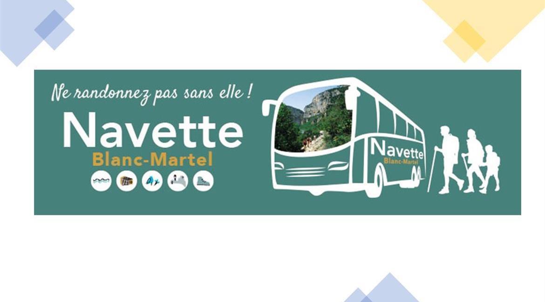 Démarrage du service de desserte du sentier Blanc-Martel par autocar