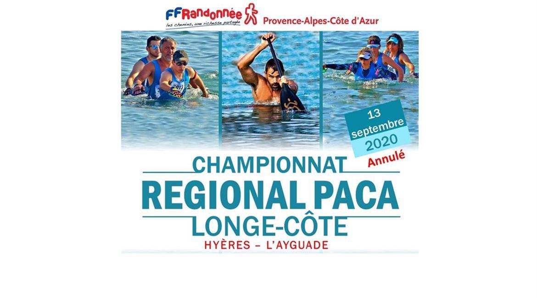 Annulation du Championnat Régional de Longe Côte PACA